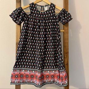 Gapkids cold shoulder dress size large